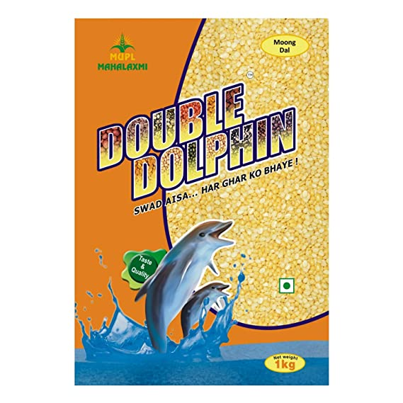 DOUBLE DOLPHIN Moong Dal- 1 K.g
