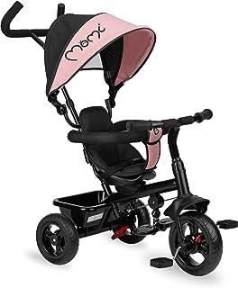 MOMI IRIS trehjuling, rosa
