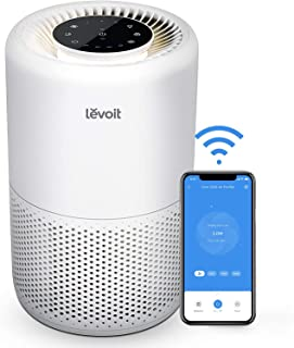 LEVOIT Smart WiFi Air Purifier for Home, Alexa Enabled H13 True HEPA Filter for Allergies, Pets, Smokers, Smoke, Dust, Pol...