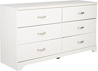 Ashley Furniture Signature Design - Lulu Dresser - 6 Drawers - Traditional Style - White