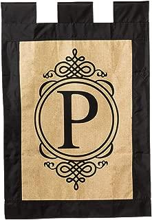 Best burlap monogram house flag Reviews