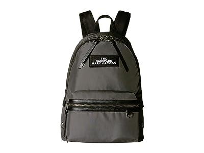 Marc Jacobs Large Backpack (Alien Grey) Backpack Bags