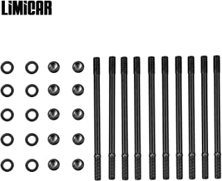 LIMICAR Cylinder Head Stud Kit For Acura 1.8L B18C1 Series DOHC VTEC Engines LS-VTEC or B20-VTEC Conversions with B16 or B18C Heads 208-4306