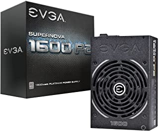 EVGA Supernova 1600 P2 80+ Platinum, 1600W ECO Mode Fully Modular NVIDIA SLI and Crossfire Ready 10 Year Warranty Power Su...