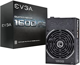 EVGA Supernova 1600 P2 80 Plus Platinum, 1600W Eco Mode Fully Modular Nvidia Sli and Crossfire Ready, Power Supply 220-P2-...
