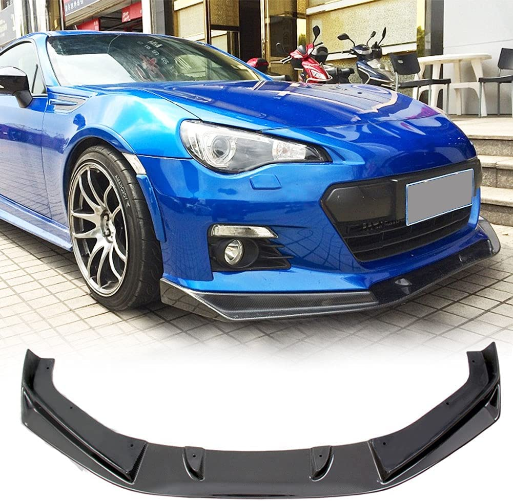 MCARCAR KIT Carbon Fiber Front Bumper BRZ for 20 Daily bargain sale Max 42% OFF Fits Subaru Lip
