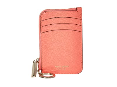 Kate Spade New York Margaux Zip Card Holder (Lychee) Coin Purse
