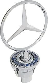 Generic Standing Star Front Hood Ornament Emblem Logo Badge For Mercedes Benz