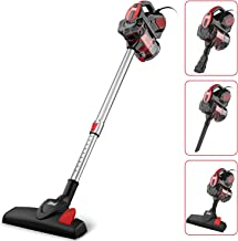 INSE Vacuum Cleaner Corded 18KPA Powerful Suction Stick Vacuum Cleaner with 600W Motor..