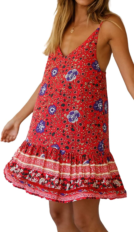 JENESAISQUOI Women's Casual Dresses Summer Dress Boho Clothing for Women Dresses