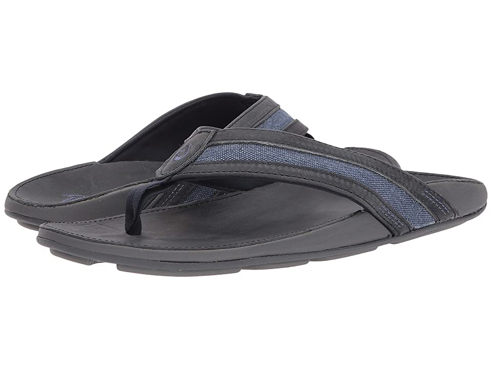 OluKai 'Ikoi  Shoes (Trench Blue/Trench Blue) Men's Sandals