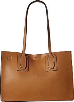 Calvin Klein - Unlined Novelty East/West Boxed Tote