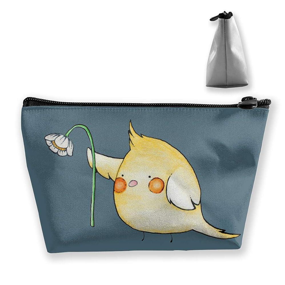 生意気なオカメインコ ペンケース文房具バッグ大容量ペンケース化粧品袋収納袋男の子と女の子多機能浴室シャワーバッグ旅行ポータブルストレージバッグ
