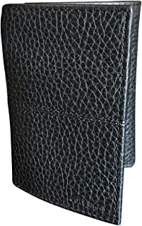 Cole Haan Trifold Men's Wallet Pebbled Leather Black