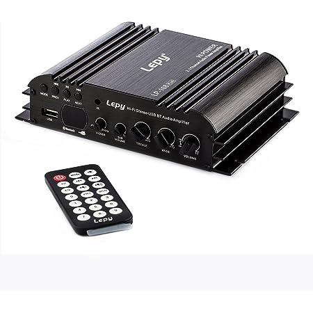 nobsound lepy 168plus 2.1 Channel 80 W + 68 W Hi-FI stéréo USB/SD/Bluetooth/aux/RCA Audio numérique amplificateur Power Caisson Amp Basses
