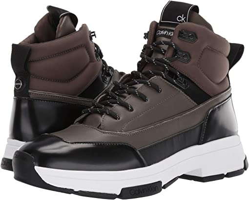 Camouflage/Black Smooth Calf/Box Leather