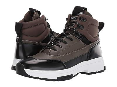 Calvin Klein Cillian (Camouflage/Black Smooth Calf/Box Leather) Men