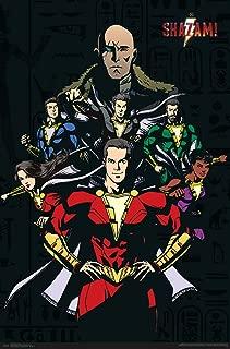 Trends International DC Comics Movie-Shazam-Group Mount Wall Poster, 22.375