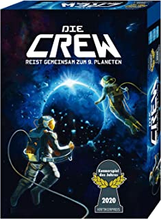 ALItan Most Popular Card Game of 2020|The Crew|Explore Planet Nine|Suitable for Playing with Friends, Supporting Multiple ...
