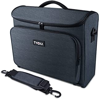 Video Projector Case TYCKA Protective Projector Organizer Bag Shockproof Projector Carrying Case with Shoulder Strap, Acce...