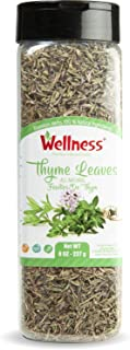 Thyme, Whole Thyme Leaf Whole Leaves |Tyme hojas Enteras 9 Ounce - 227 Gr | Dried Thyme Spice - Seasoning | Extra Grade,Dr...