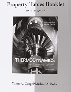 Property Tables Booklet Cengel Thermodynamics 6th ed.