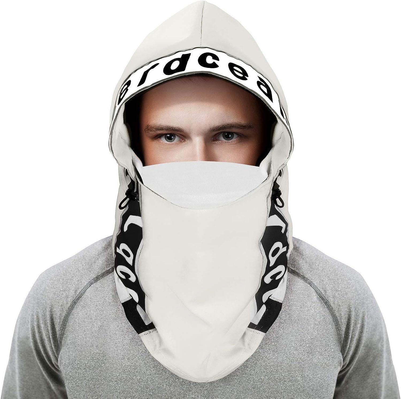 ZERDOCEAN Cold Weather Balaclava Fleece Ski Mask Hat Winter Windproof Hood Cycling Waterproof Neck Warmer for Women Men