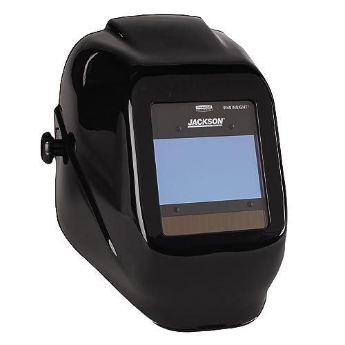 Jackson Safety 46131 Insight Variable Auto Darkening Welding Helmet, HaloX ,Black