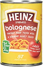 Heinz Spaghetti Bolognese 400g x 4 Estimated Price : £ 19,99
