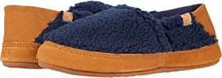 Acorn Women's Moc Slipper with a Collapsible Suede Heel and Warm Micro-Fleece Lining