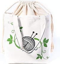 handmade knitting bags