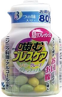 噛むブレスケア 80粒ボトル アソート ×2セット
