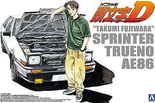 Initial D No.05 Takumi Fujiwara 86 TRUENO vol. 1 ver. (Plastic Model)