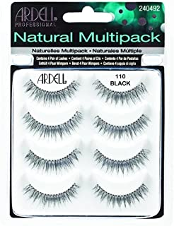 (3 Pack) ARDELL Professional Natural Multipack - 110 Black by Ardell