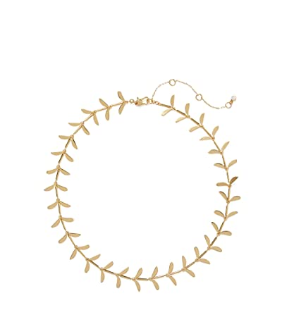 Kate Spade New York Botanical Garden Collar Necklace (Gold) Necklace