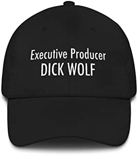 Law and Order SVU Dick Wolf Executive Producer Hat Embroidered Gift for Law and Order Fan Black