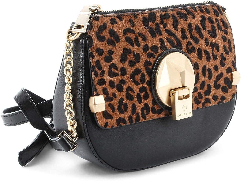 Céline Dion Octave Leather Crossbody Bag