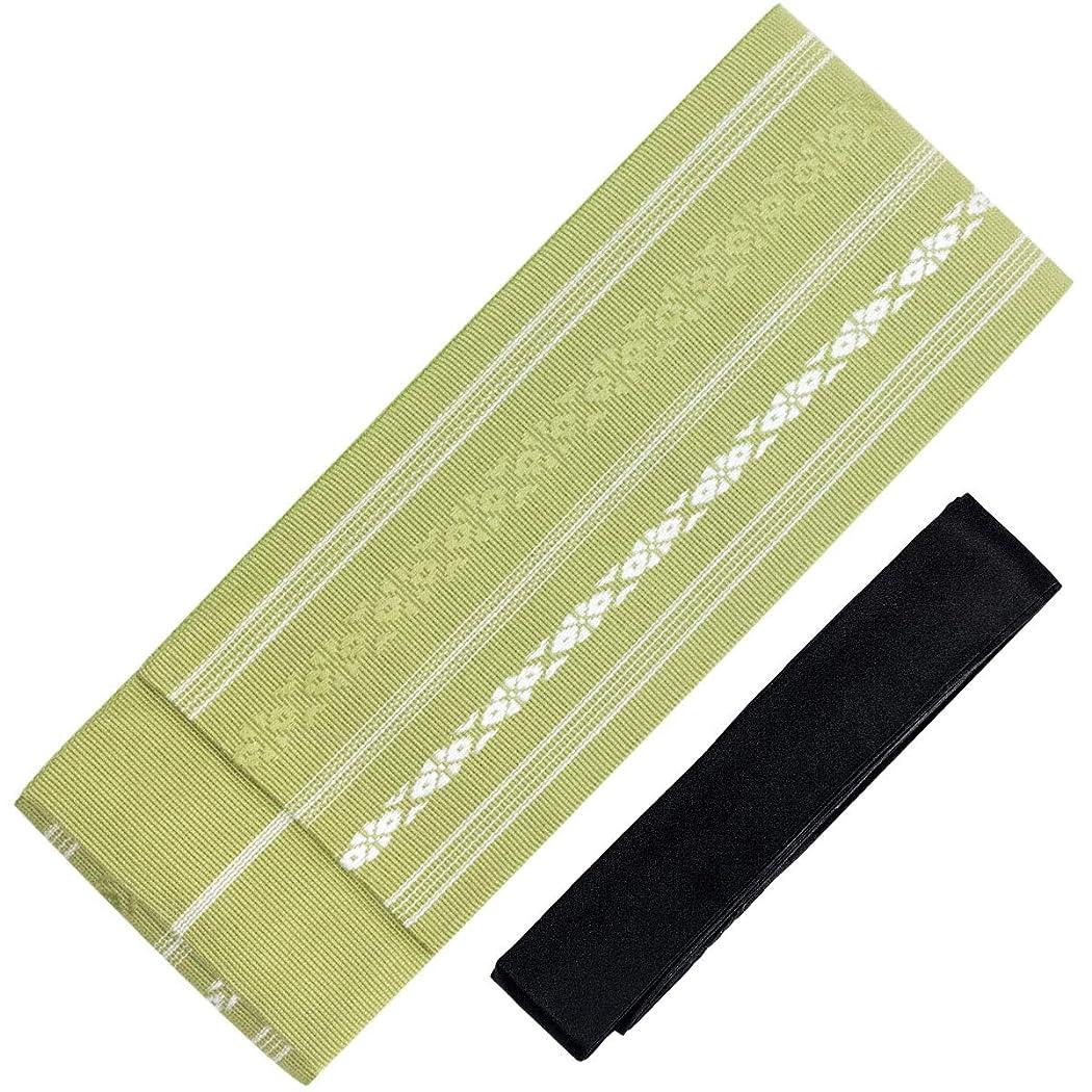 露伝導率壁紙[キョウエツ] 角帯セット 日本製 献上柄 角帯+腰紐2点セット(角帯、腰紐) メンズ