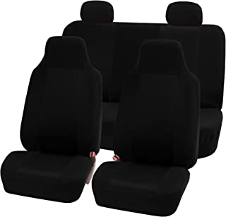 FH Group FB102BLACK114 Black 3D Air mesh Auto Seat Cover (Full Set)
