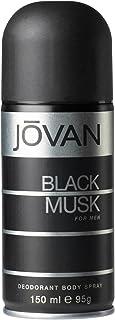 Jovan Black Musk for Men dezodorant do ciała, 1 opakowanie (1 x 150 ml)