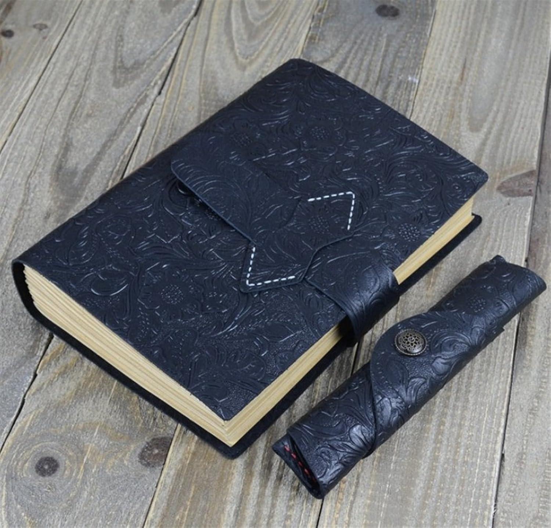 200pages reine Farbe Business Style Notebook (schwarz) Durch Znyo B07JNDXCYM  | Attraktive Mode