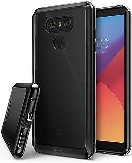 Ringke Funda LG G6 / G6 Plus [Fusion] Protector de TPU con Parte Posterior Transparente de PC [Protección contra caídas] Carcasa Protectora biselada - Negro Tinta Ink Black