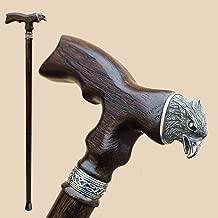 Wooden Walking Canes for Men - Eagle - Fancy Walking Stick - Stylish Handmade Carved Men's Cane