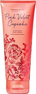 Bath and Body Works PINK VELVET CUPCAKE Ultra Shea Body Cream 8 Ounce (2019 Limited Edition)