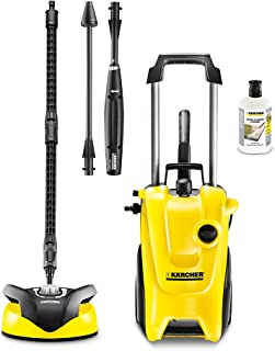 Karcher K4 Compact Home Pressure Washer Complete Cleaning Set