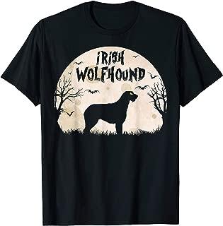 Halloween Horror Irish Wolfhound T-Shirt