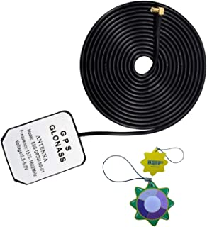 HQRP Antena Externa GPS amplificada 1575.42 MHz de Montaje magnético para Garmin Quest (010-00306-00) / Garmin Quest 2 (01...