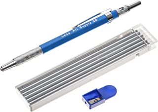 Leda Art Supply Mechanical Pencil Set with 12-piece 5B lead refill and sharpener perfect for drawing and sketching
