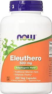 Now Foods Eleuthero 500mg, 250 Capsule