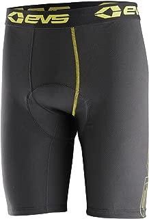 EVS Sports Unisex-Child Tug Bottom Vented Shorts (Black/Hi-Viz, Large/X-Large)